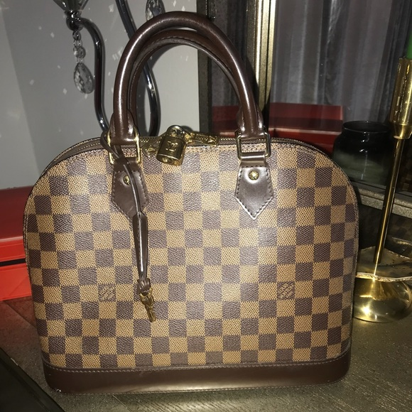 158ffbef85db Louis Vuitton Handbags - ❤️Sale ❤ LOUIS VUITTON Damier Ebene Alma PM